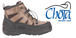 Chota Wading Boot and Logo