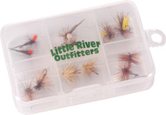 Little River Outfitters Smoky Mountains Dry Fly Selection