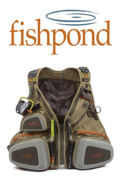 Fishpond Logo and a Fishpond Vest