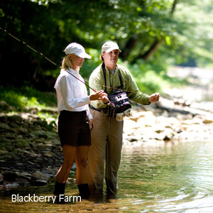 Fly Fishing at Blackberry Farm
