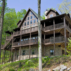 Incroyable Large 3 Story Cabin Near Townsend