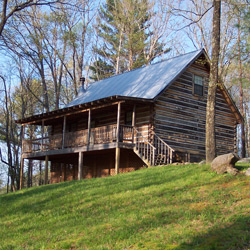 A small cabin for rent in Townsend