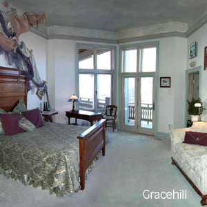 A guest room at Gracehill Bed and Breakfast