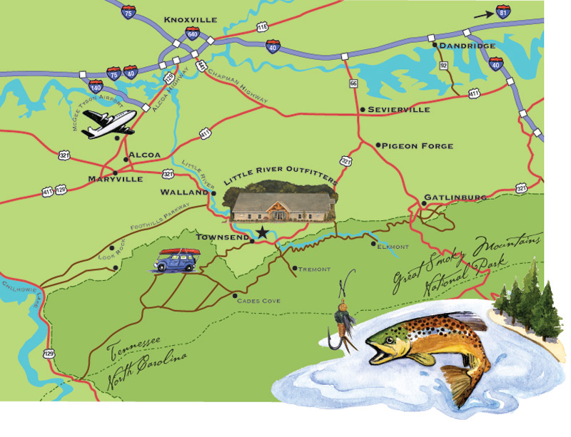 Little river outfitters the shop find us for Buy tennessee fishing license
