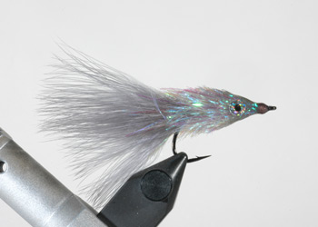 Baitfish Fly tied using Palmer Chenille