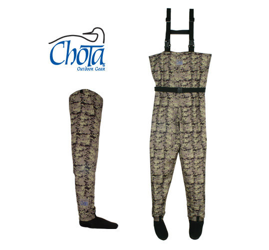Chota Camo Waders and Hippies.