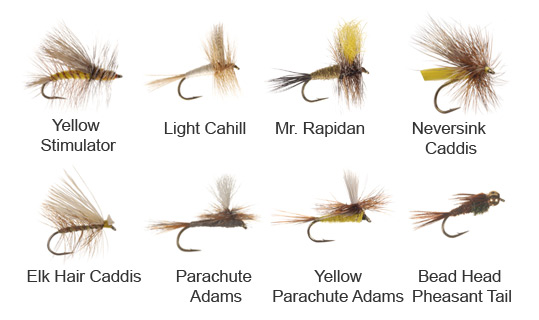 Smoky Mountain Fly Patterns for May
