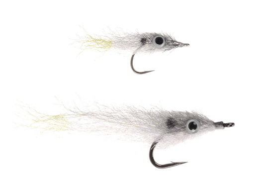 Puglisi Threadfin Shad flies.