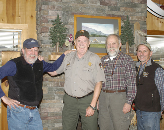 Byron Begley, Steve Moore, Bill Bolinger and Mike Bryant