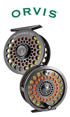Orvis Battenkill Disc Reel Front and Back View