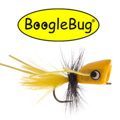 Yellow BoogleBug Popper and Logo