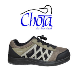 Chota Hybrid Felt Shoe and Chota Logo