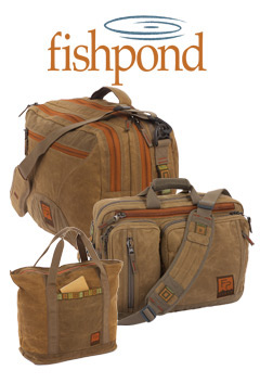 Assortment of Fishpond Waxed Cotton Luggage