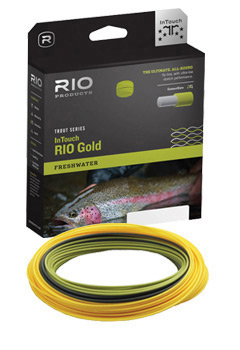 Rio Gold InTouch Fly Line in the Box and Coiled