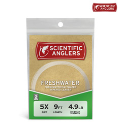 2-Pack of Scientific Anglers Freshwater Leaders