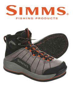 Simms Flyweight Wading Boot with felt soles.