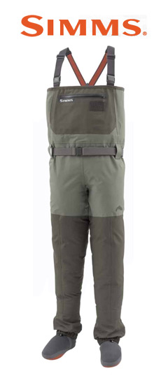 Men's Simms Freestone Wader Front View