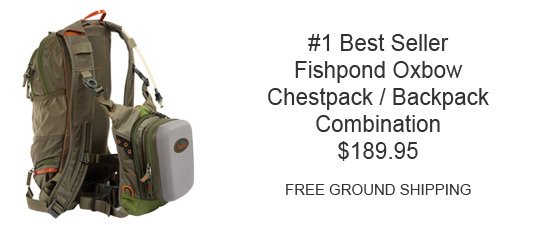 Fishond Oxbow Chest Backpack