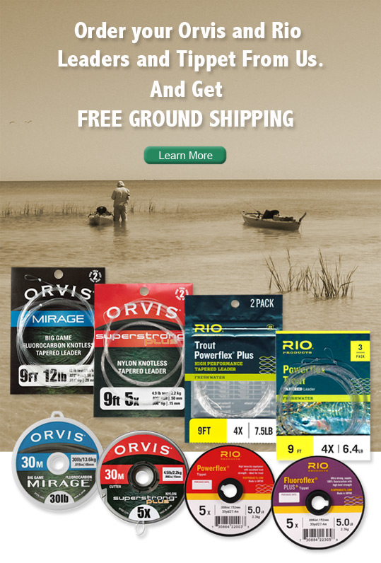 Orvis and Rio Leader and Tippet Ad