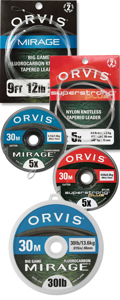 Orvis Leaders and Tippet