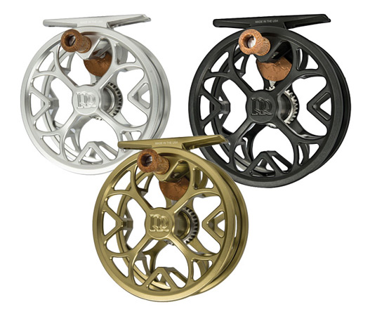 the new Ross Colorado LT reels in all three colors.