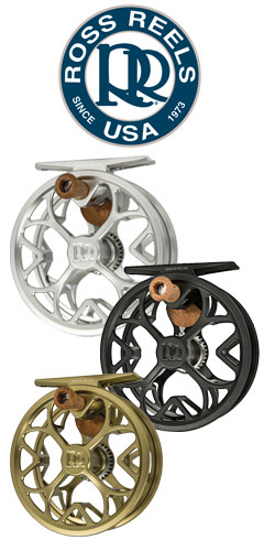 Ross Colorado LT Reels in all three colors.