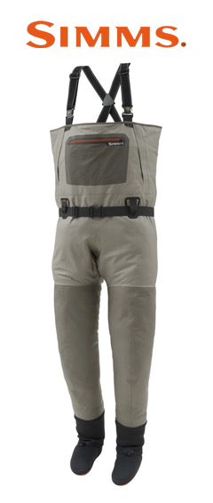 Simms Waders and Logo