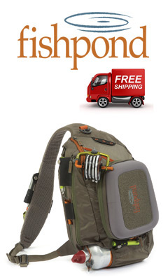 Fishpond Summit Sling Pack and Fishpond Logo