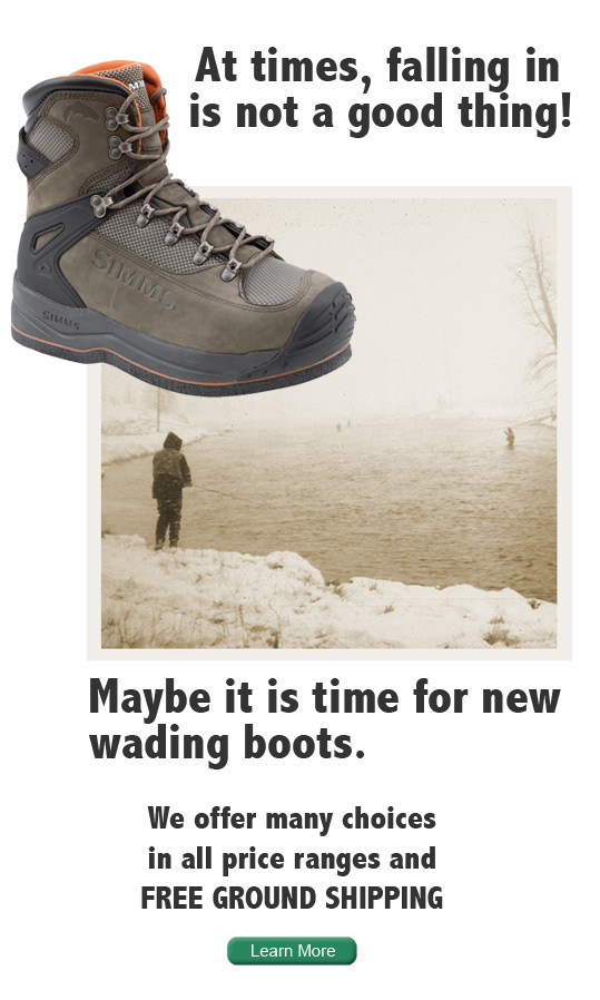 Wading Boot Ad