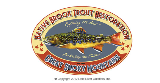 Brook Trout Restoration T-Shirt Image