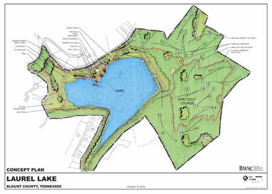 Laurel Lake Concept Plan