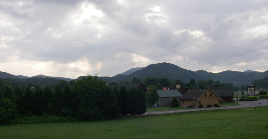 View of the Smoky Mountains June 16, 2012