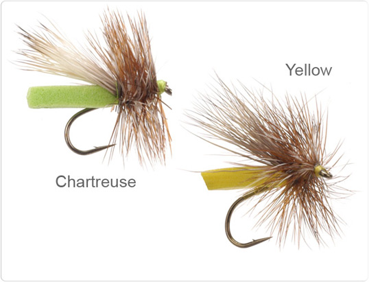 Neversink Caddis Chartreuse and Yellow