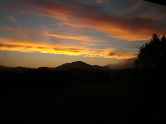 Smoky Mountain Sunrise August 31, 2012