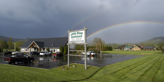 Double Rainbow at Little River Outfitters March 24, 2012