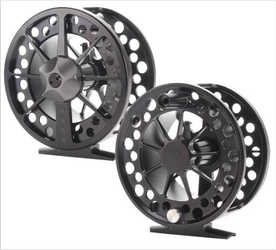 Lamson Special Edition Black Guru Reel